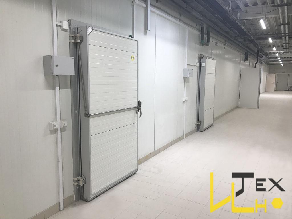 холодильная дверь, холодильные распашные двери, холодильная дверь, морозильная дверь, дверь холодильной камеры, интех